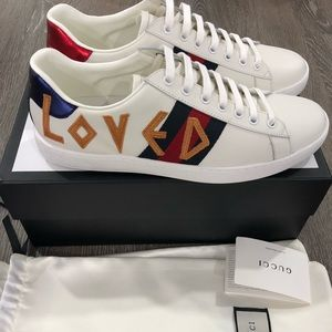 """Gucci """"Loved"""" Sneakers"""